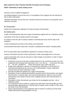 marking guidance BTEC Applied Science unit 2 AIM B