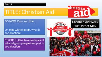 KS3 - Christian Aid
