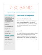 Artifact 5 Newsletter