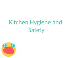 Safety and Hygiene in the Kitchen