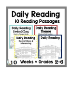 Daily Reading Comprehension Passages and Questions and Answers