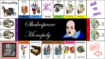 Shakespeare Monopoly