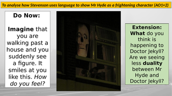 Incident at the window - Lesson 18 (Jekyll and Hyde)