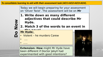 Final Assessment - Lesson 25 (Jekyll and Hyde)