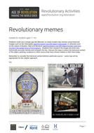 Revolutionary memes