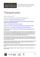Transport pairs