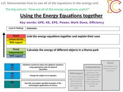 Energy 12 - Applying the Energy Equations