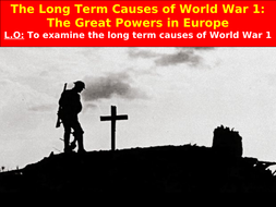 The Long Term Causes of World War One: Alliances and Militarism