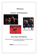 QCF - C13 - Performing Dance