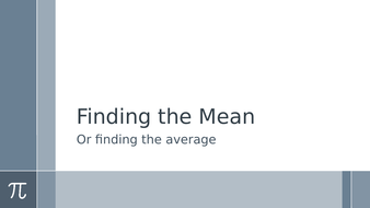 Finding-the-Mean.pptx