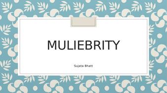 Muliebrity.pptx