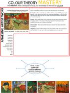 Mastery recap sheet for colour