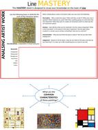 Mastery recap sheet for line