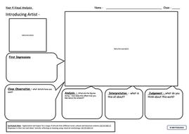Year 4 Visual Analysis Framework