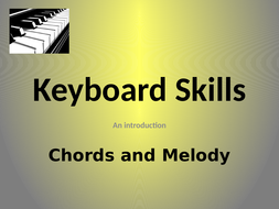CHORDS & MELODY IN C (