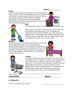 Hausarbeit Lesung: German Reading on House Chores (Putzen)