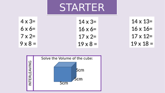 Surface Area of Cube and Cuboids