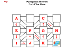 Pythagorean Theorem Activity: End of Year/ Summer Math