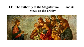 The Authority of the Magisterium and its Views on the Trinity