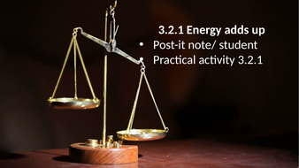 3.2.1 Energy adds up (AQA KS3 Activate 1)