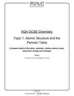 AQA GCSE Chemistry Detailed Notes
