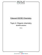 Edexcel IGCSE Chemistry Notes by PMTEducation | Teaching Resources