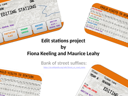27 editing stations