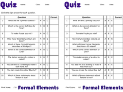 KS3-Formal-Elements-Quiz---Answer-Sheet.pptx