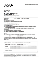 2019 Paper 3 AQA Geography GCSE practice paper
