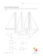 Shape hunting: sailing boat