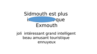 French comparisons