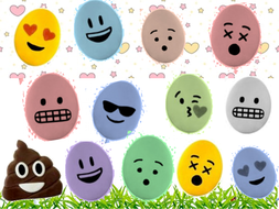 Easter Egg Emoji game plenary Maths  English Science