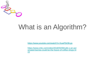 What is an Algorithm Year 7
