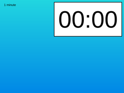 Actual Powerpoint countdown timer