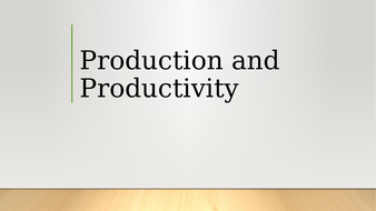 Prod-and-Productivity.pptx