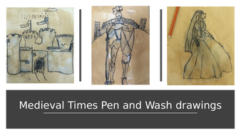 Medieval-pen-wash-drawings.pptx