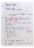 A-level Further Maths (Pure) Revision Notes and Example Questions