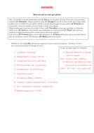 French - iGCSE - gap fill activities - 11 texts (exam style questions)