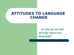 An Introduction to Language Change