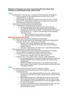 Edexcel Government and Politics -  US Congress Long Answer Essay Plans