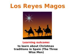 Los Reyes Magos Three Wise Men lesson