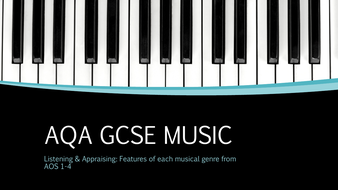 AQA GCSE Music -