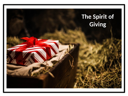 Christmas Assembly - The Spirit of Giving!