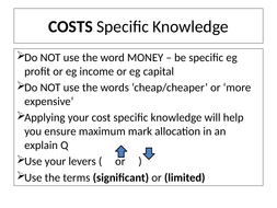COSTS-Specific-Knowledge-LR.pptx