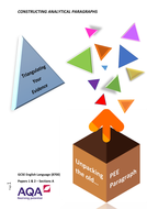 AQA 8700 English Language - Triangulate Evidence & Find Patterns Guidebook & PPT