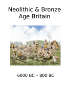 Timeline & Market Place Activity: Neolithic & Bronze Age Britain