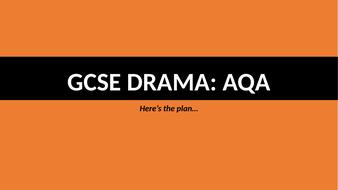 Devising - Coursework [AQA]