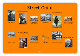 Street Child word mat
