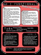 Functional Skills Tasks ICT