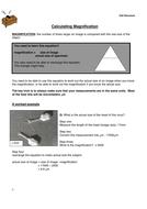 9-1 AQA GCSE Biology - U1 L4 Microscopy